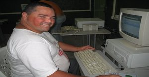 Fat_romantico 50 years old I am from João Pessoa/Paraiba, Seeking Dating Friendship with Woman