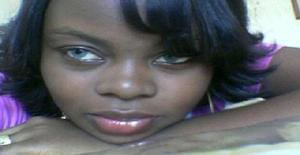 Nadiabc 35 years old I am from Luanda/Luanda, Seeking Dating Friendship with Man