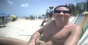 Carloscarinhos38 49 years old I am from Recife/Pernambuco, Seeking Dating Friendship with Woman